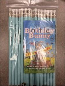 battle bunny pencils