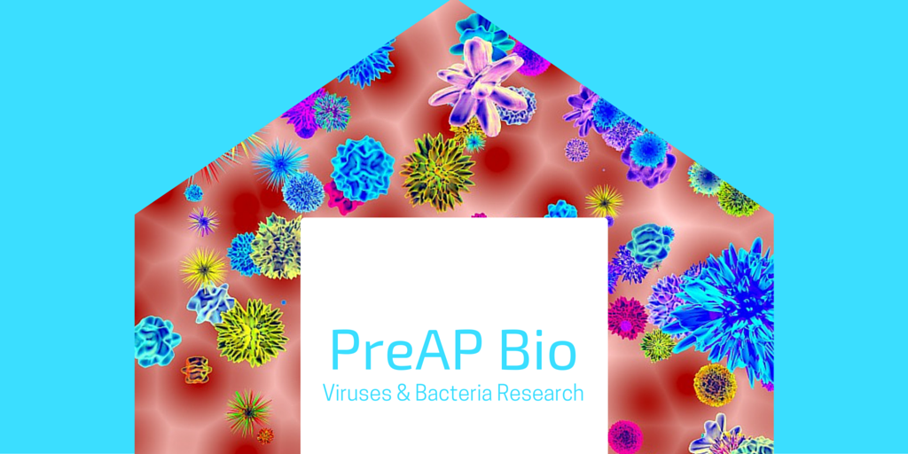 PreAP Bio Viruses & Bacteria Research Blog Post Banner