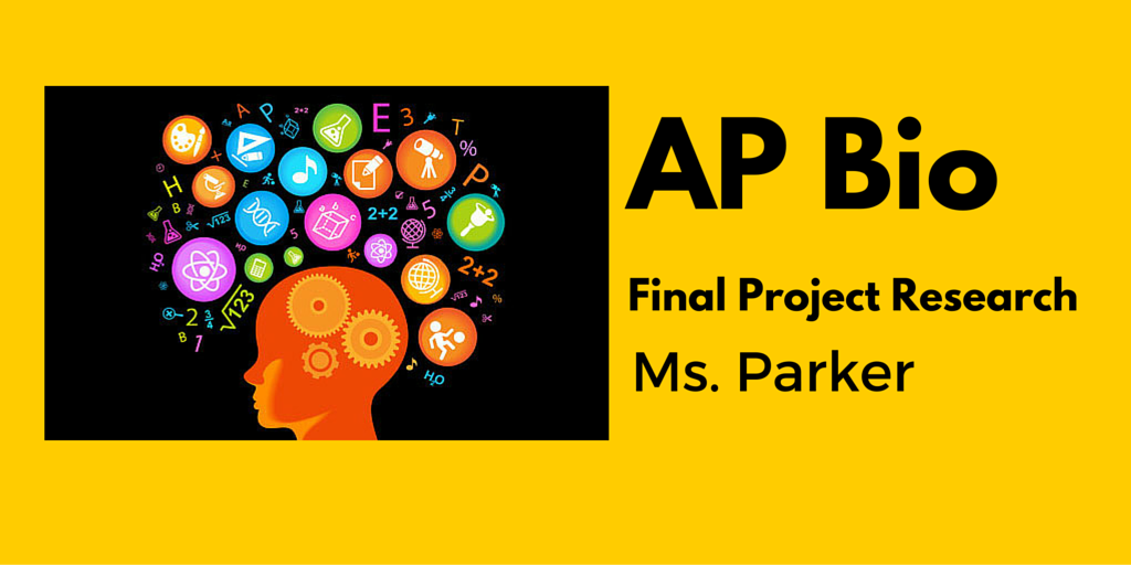 AP Bio Final Project Research Banner